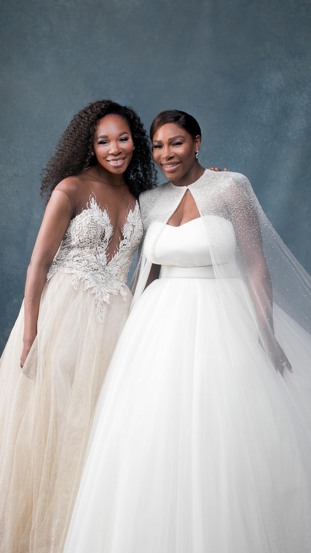 Serena Williams, Alexis Ohanian, Venus Williams, Wedding