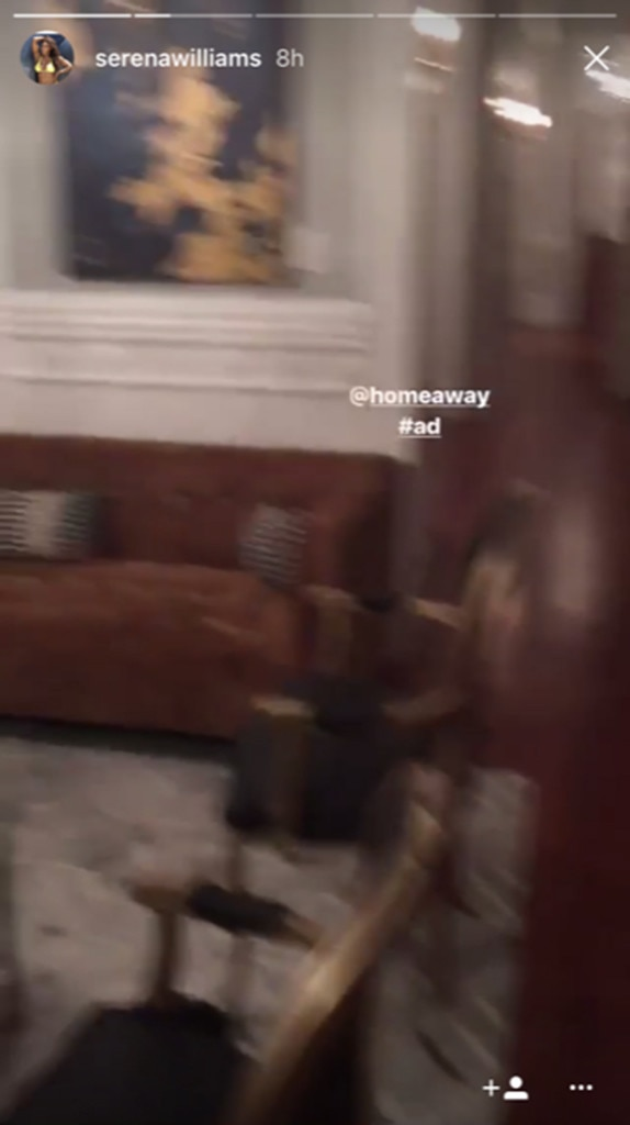 Serena Williams, New Orleans, Instagram