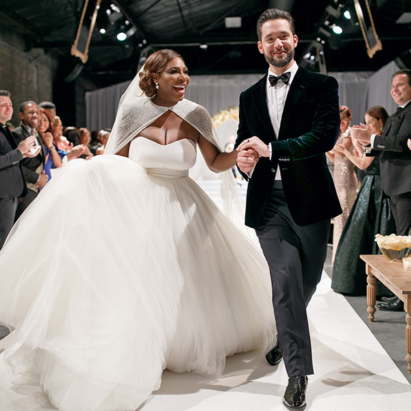 Serena Williams and Alexis Ohanian's Wedding Album