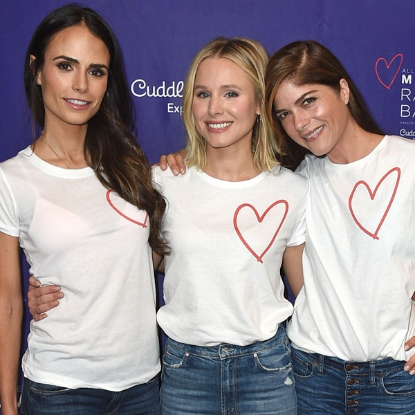 Jordana Brewster, Kristen Bell, Selma Blair, Alliance of Moms Raising Baby