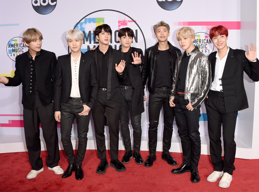 BTS, American Music Awards 2017, AMAs