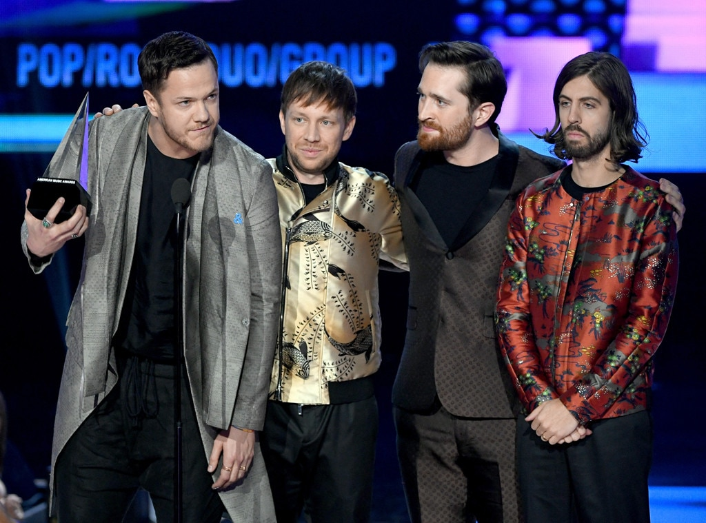 Imagine Dragons, Winners, America Music Awards, 2017