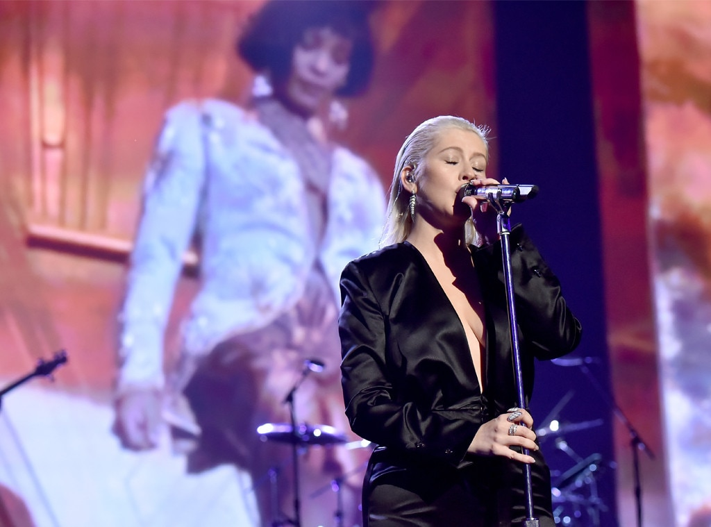 Christina Aguilera, Show, American Music Awards 2017, AMAs