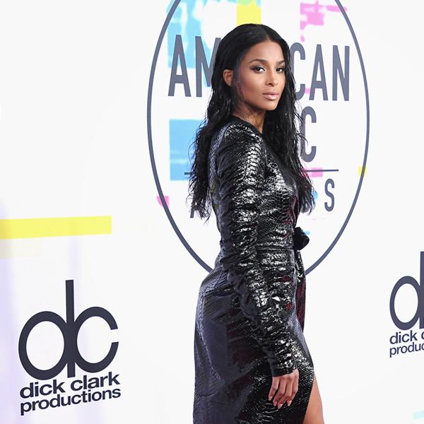ESC: Ciara, Best Dressed, American Music Awards 2017