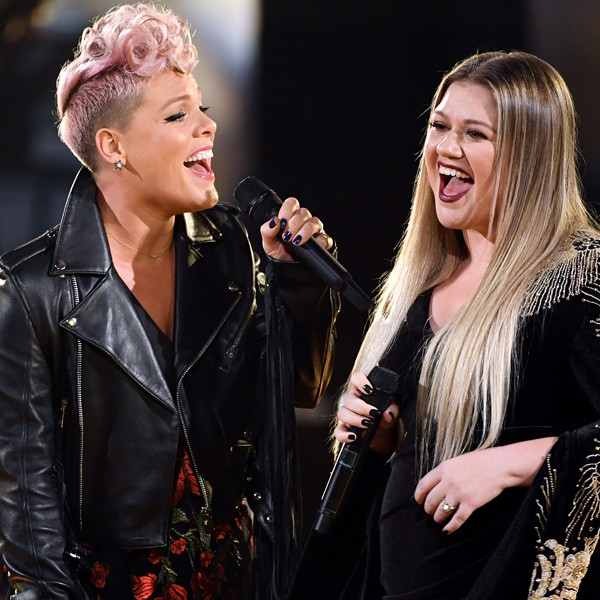 Pink, Kelly Clarkson, American Music Awards 2017, AMAs