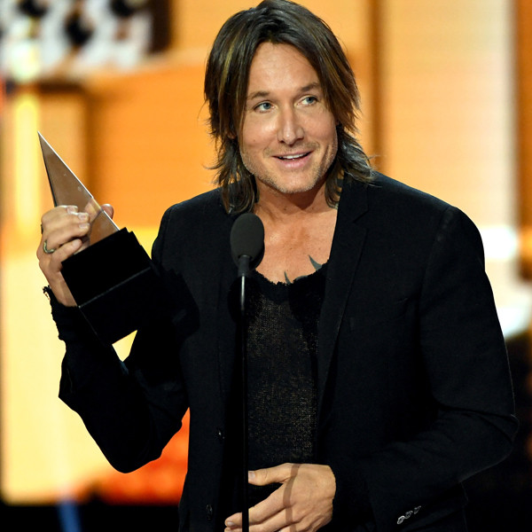 Keith Urban, Winners, American Music Awards 2017, AMAs