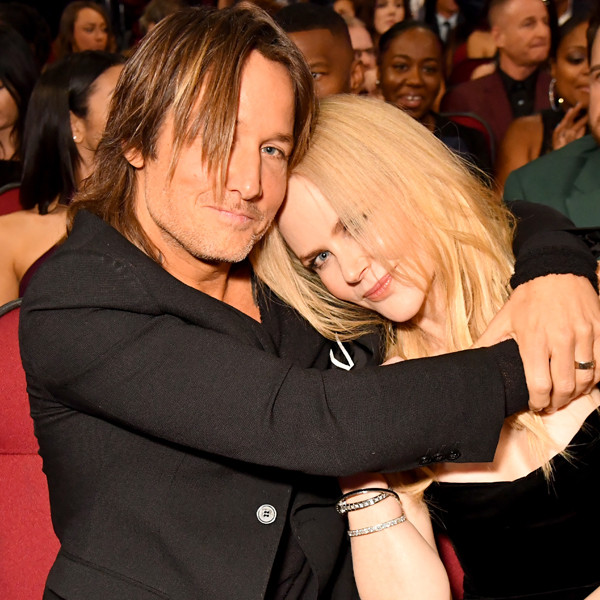 Keith Urban, Nicole Kidman, 2017 American Music Awards, AMAs