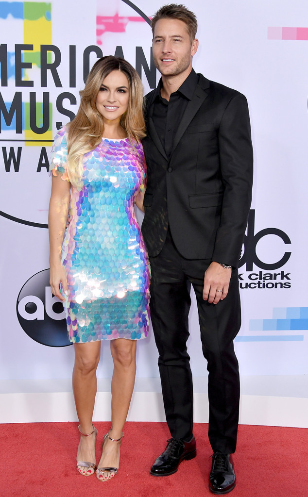 Chrishell Stause, Justin Hartley, American Music Awards 2017, AMAs