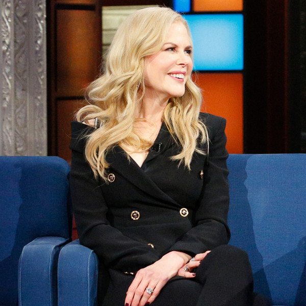 Nicole Kidman, The Late Show With Stephen Colbert