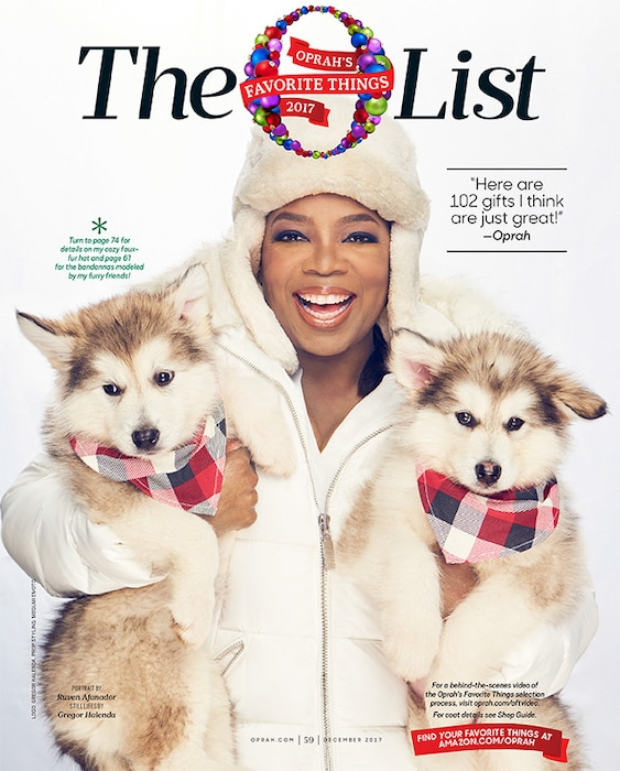 Oprah's Favorite Things, Oprah Winfrey, 2017