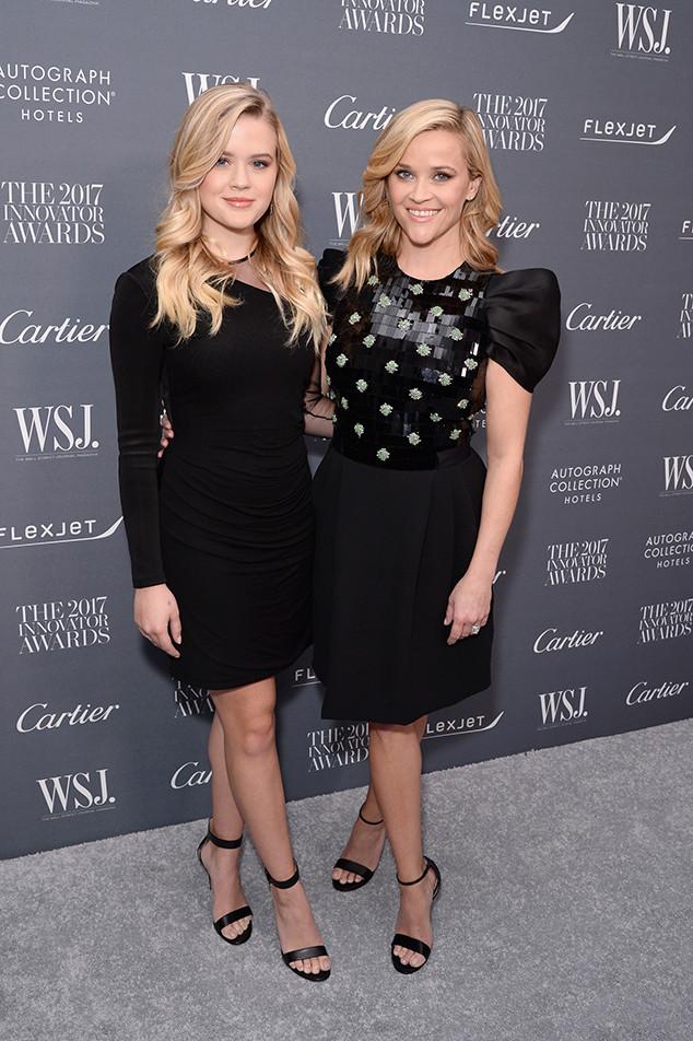 Ava Phillippe, Reese Witherspoon, 2017 WSJ. Magazine Innovator Awards