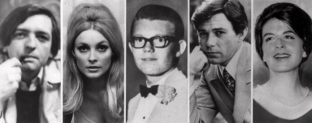 Charles Manson Victims: Voityck Frykowski, Sharon Tate, Stephen Parent, Jay Sebring, Abigail Folger