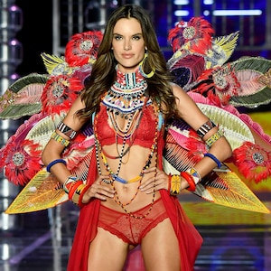 Alessandra Ambrosio's Victoria's Secret Fashion Show Looks