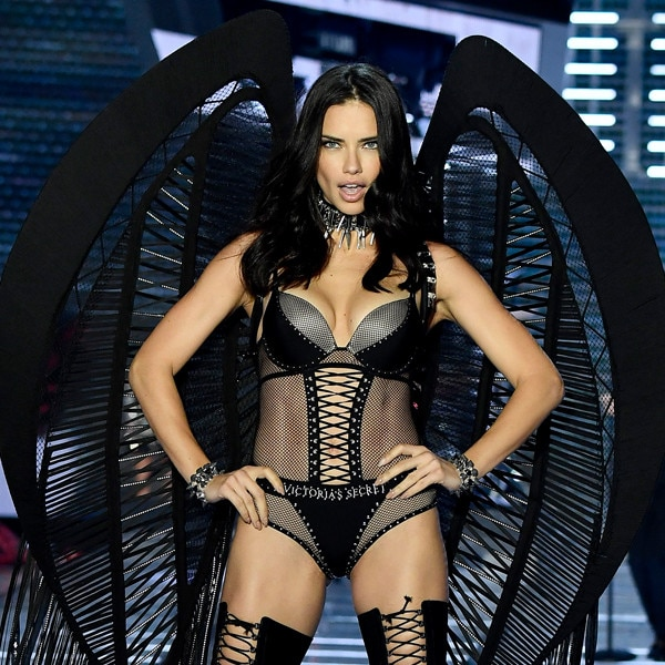 Adriana Lima's Victoria's Secret Fashion Show Looks