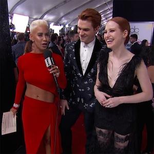 KJ Apa, Madelaine Petsch, 2017 American Music Awards