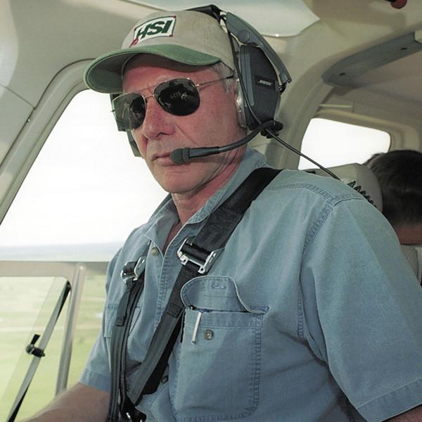 Harrison Ford, Flying, Plane