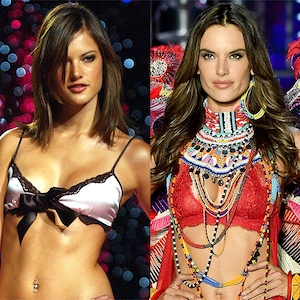Alessandra Ambrosio, Victoria's Secret Fashion Show, 2001, 2017