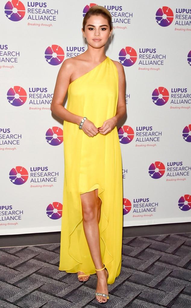 Selena Gomez, Breaking Through Lupus Gala