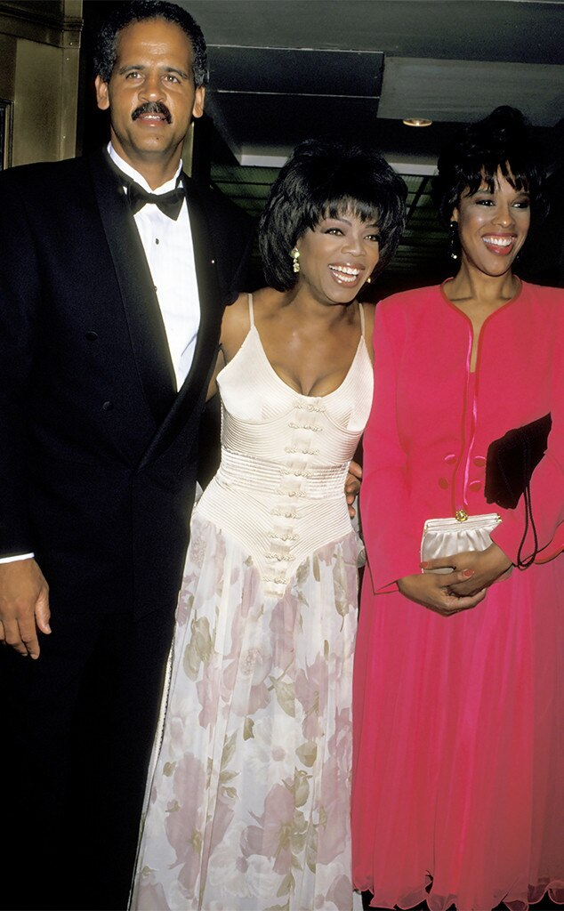Stedman Graham, Oprah Winfrey, Gayle King, 1994