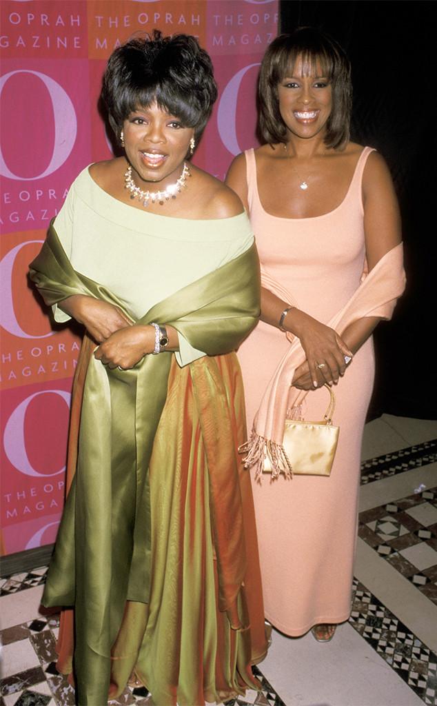Oprah Winfrey, Gayle King, 2001