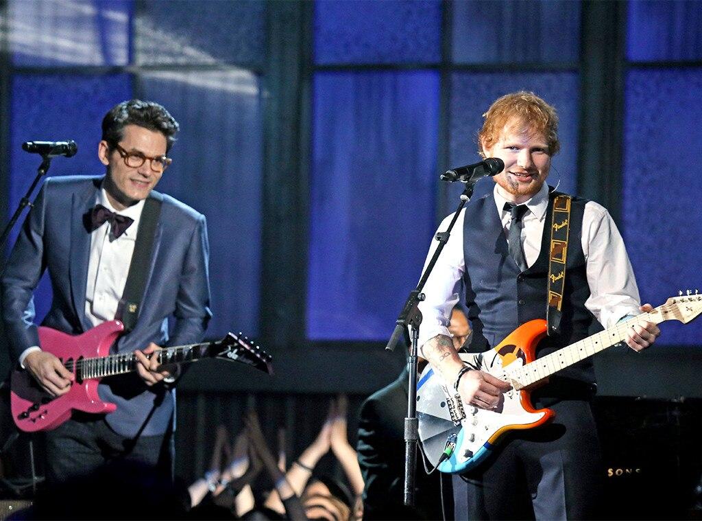 John Mayer, Ed Sheeran