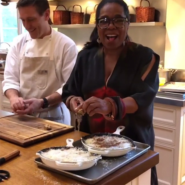 Oprah Winfrey, Thanksgiving 2017
