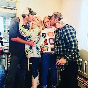 Blake Shelton, Gwen Stefani, 2017 Thanksgiving