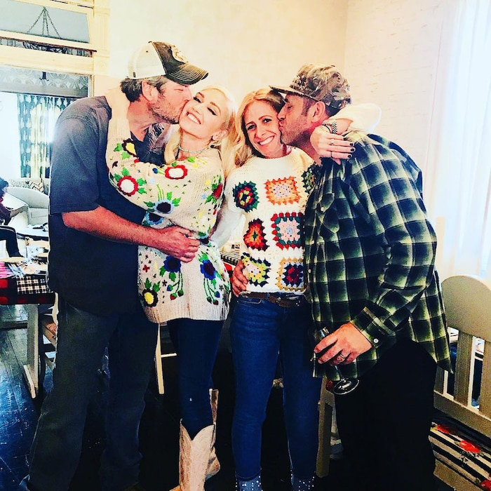 Blake Shelton, Gwen Stefani, 2017 Thanksgiving