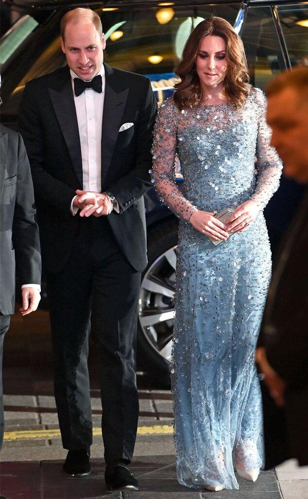 Prince William, Kate Middleton, Royal Variety Performance