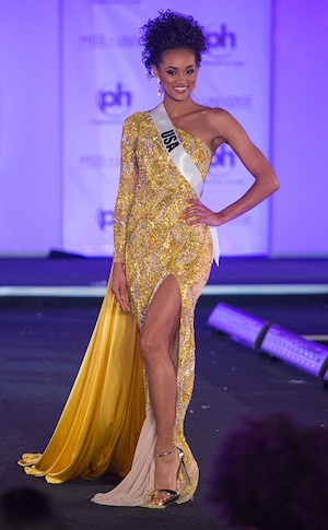 Miss USA, 2017 Miss Universe, Evening Gown Preliminary Competition