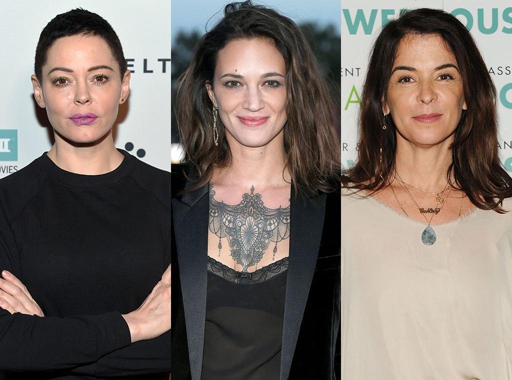 Rose McGowan, Asia Argento, Annabella Sciorra