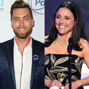 Lance Bass, Julia Louis-Dreyfus