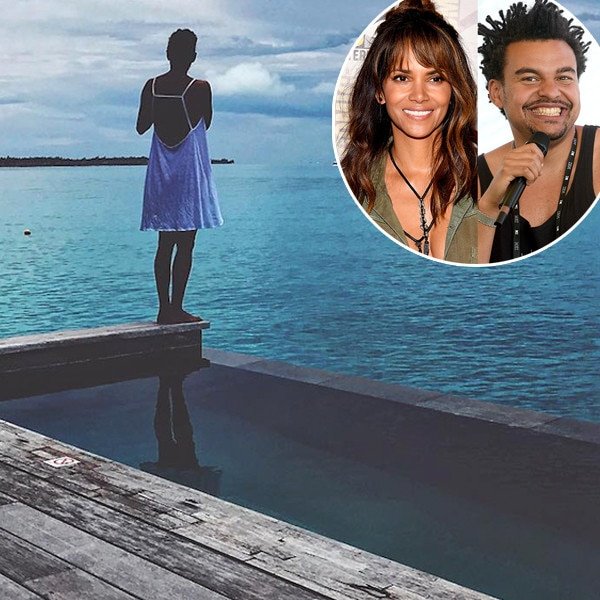 Halle Berry and Alex Da Kid Vacation in Bora Bora