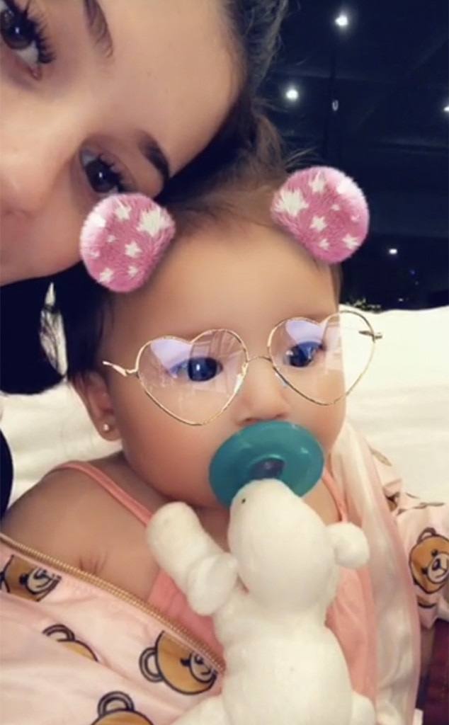 Kylie Jenner, Baby, Girl, Snapchat