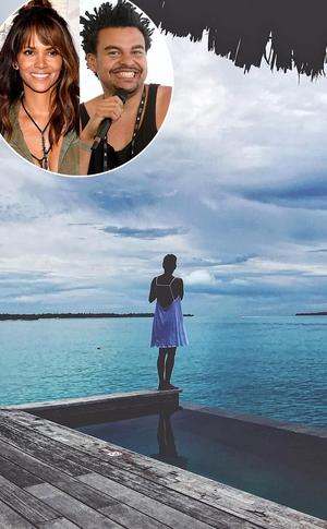 Halle Berry, Alex Da Kid, vacation, Instagram