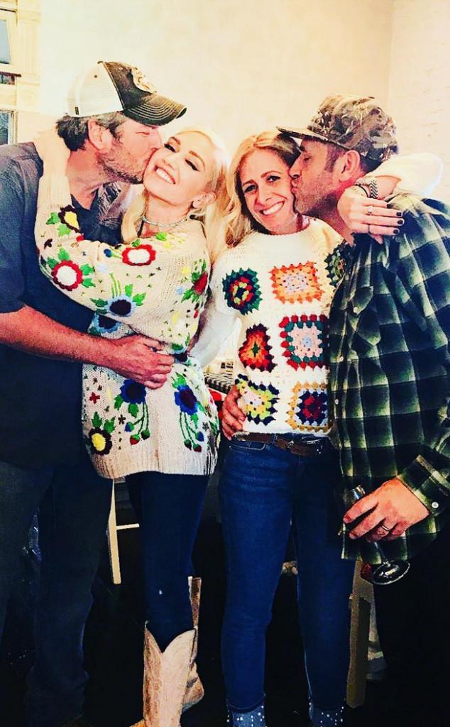Gwen Stefani, Blake Shelton, Thanksgiving