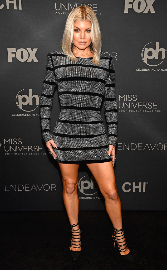 Fergie, Miss Universe 2017 Pageant