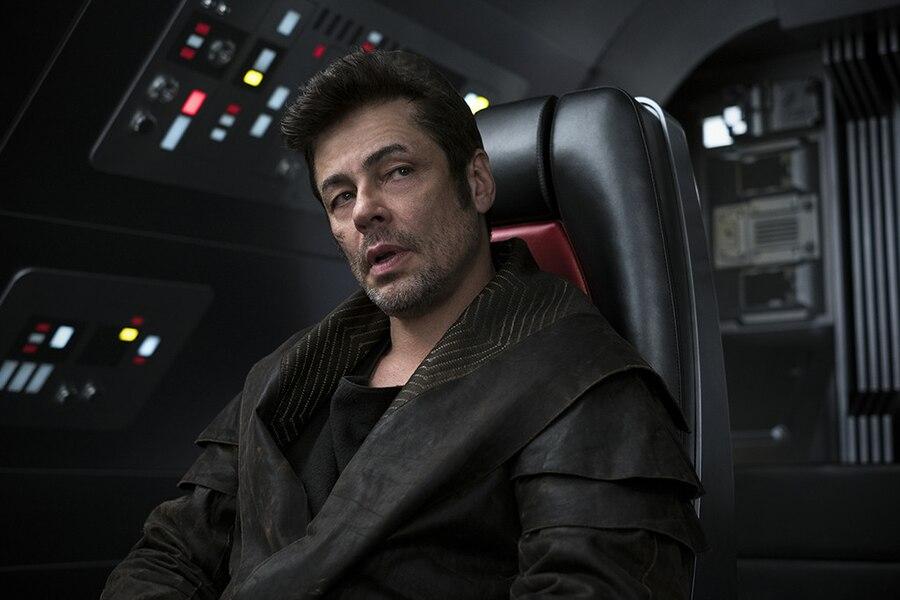 Star Wars, The Last Jedi, Benicio del Toro