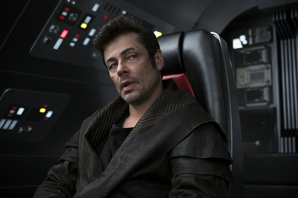 Star Wars, The Last Jedi, Benicio del Toro