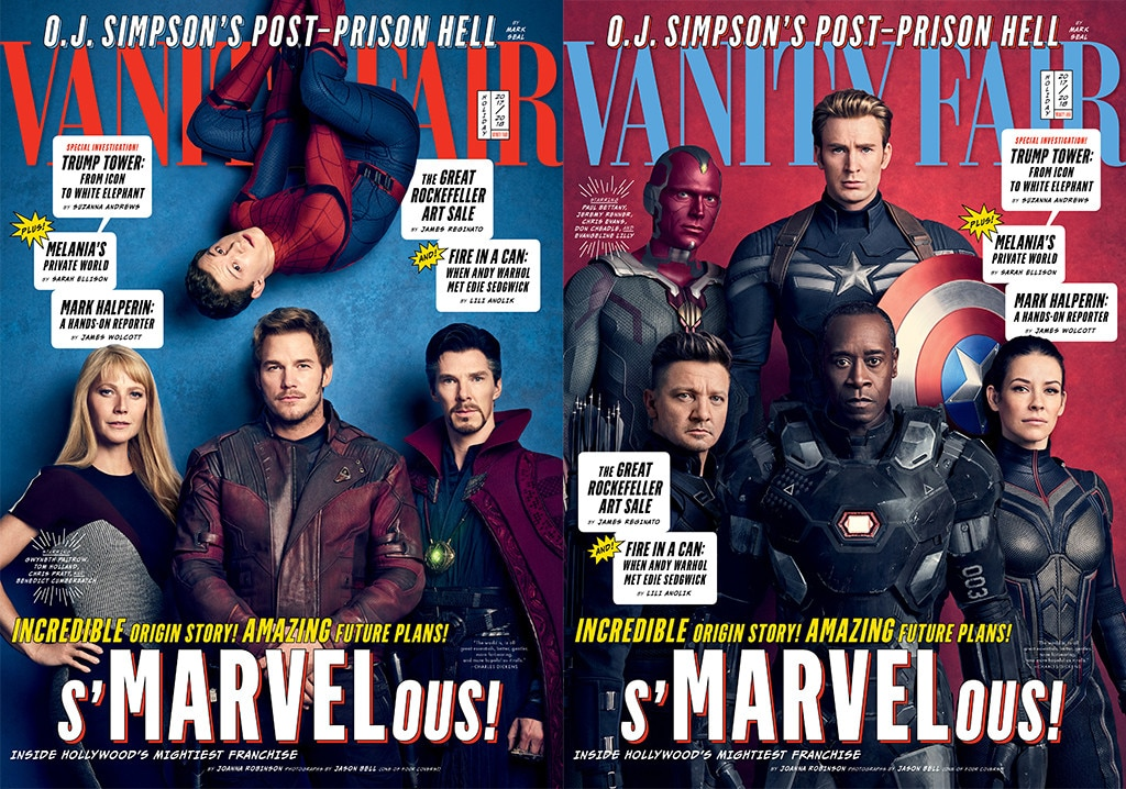 Marvel, Vanity Fair