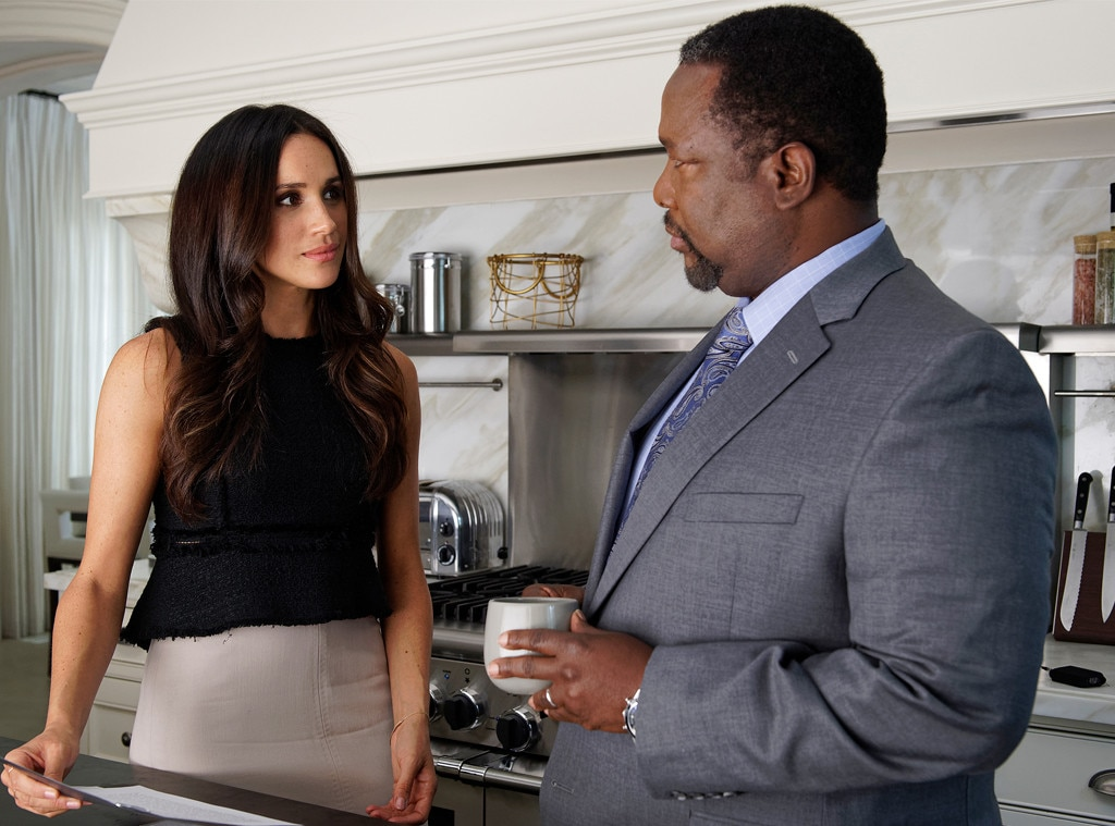 Meghan Markle, Wendell Pierce, Suits