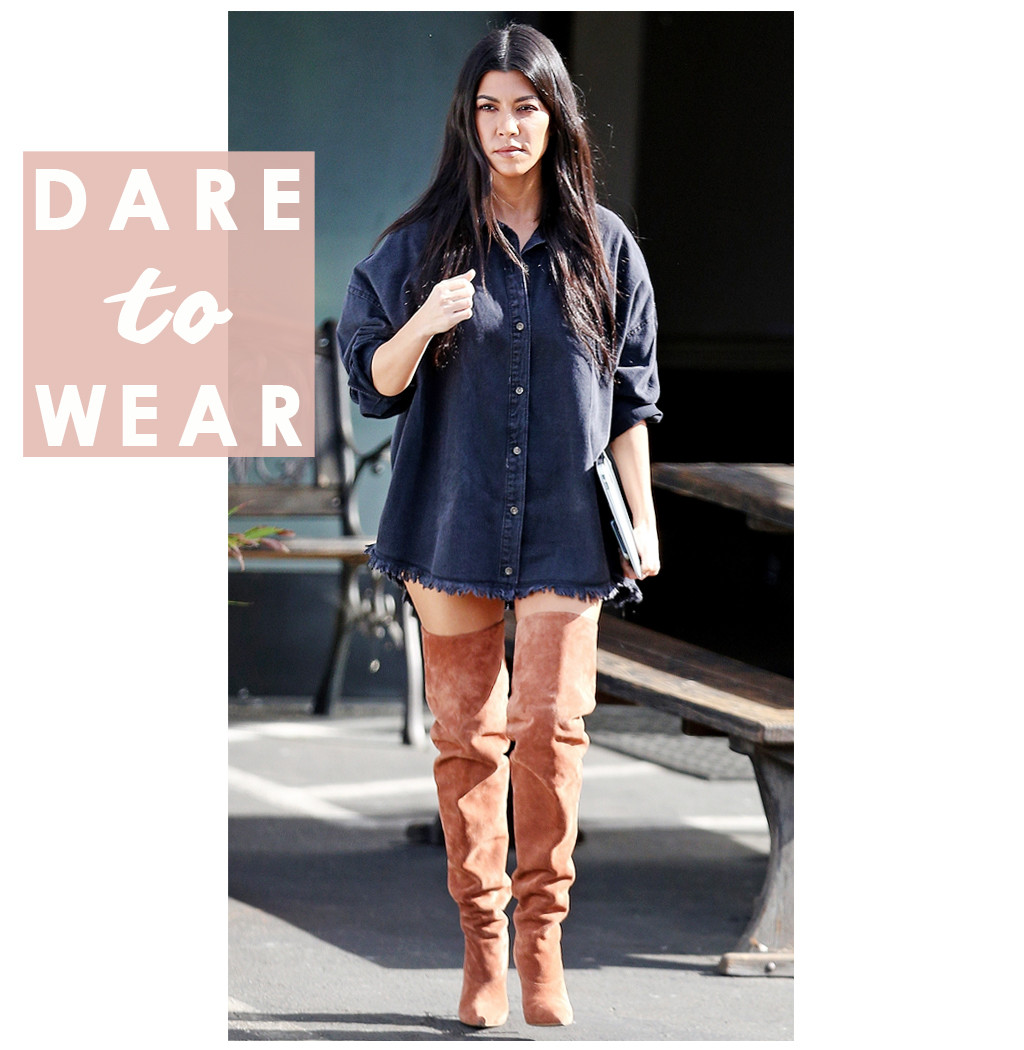ESC: Dare to Wear, Kourtney Kardashian