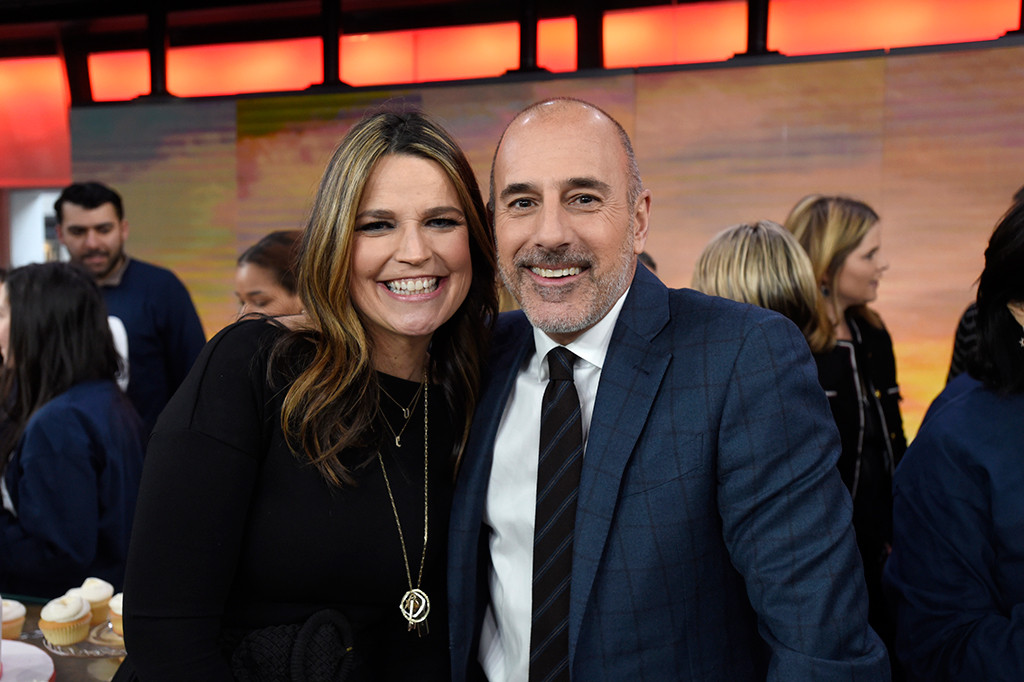 Savannah Guthrie, Matt Lauer, Today