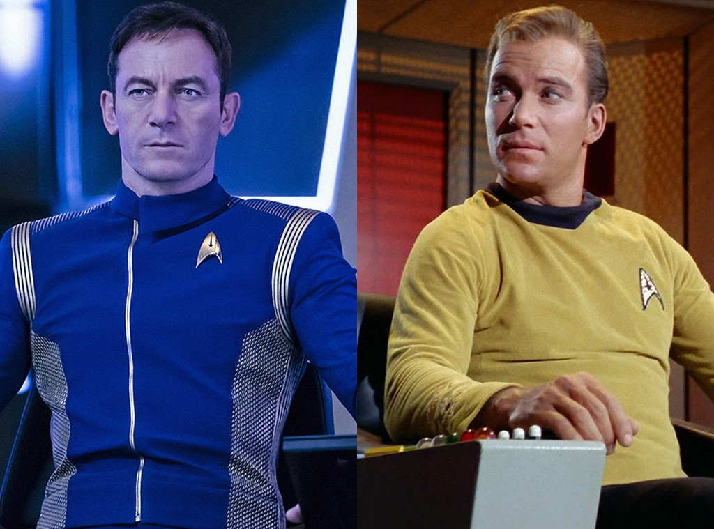 Jason Isaacs, William Shatner, Star Trek