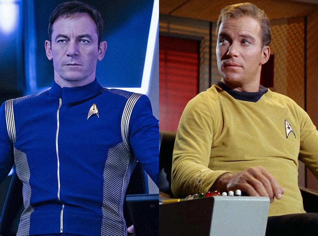 Jason Isaacs, William Shatner, Star Trek