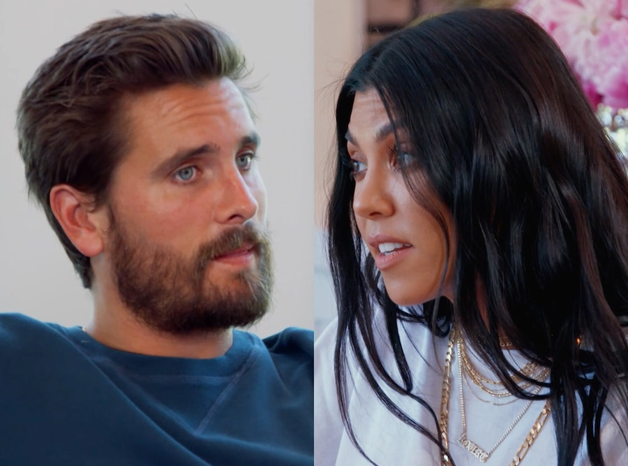 Scott Disick, Kourtney Kardashian, Keeping Up With the Kardashians, KUWTK