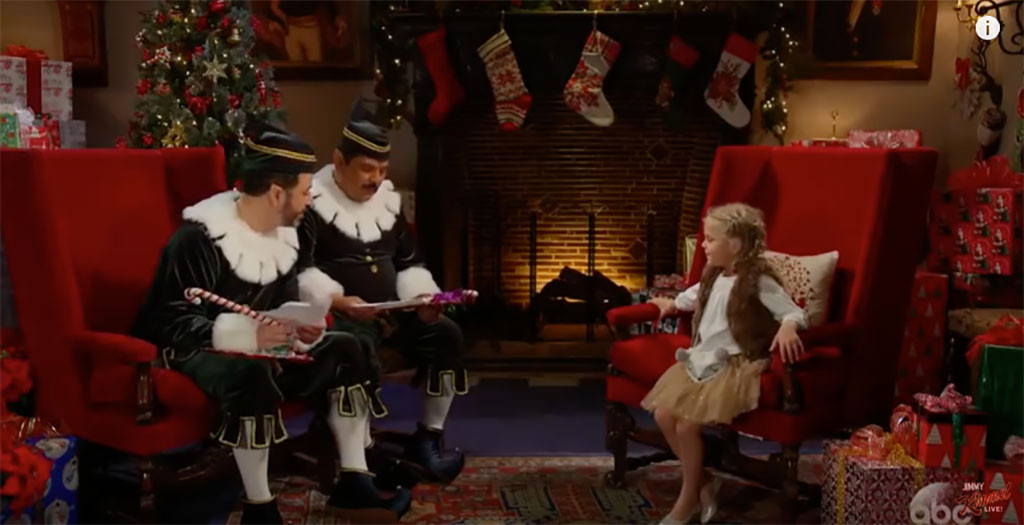Jimmy Kimmel, Naughty or Nice, Elf