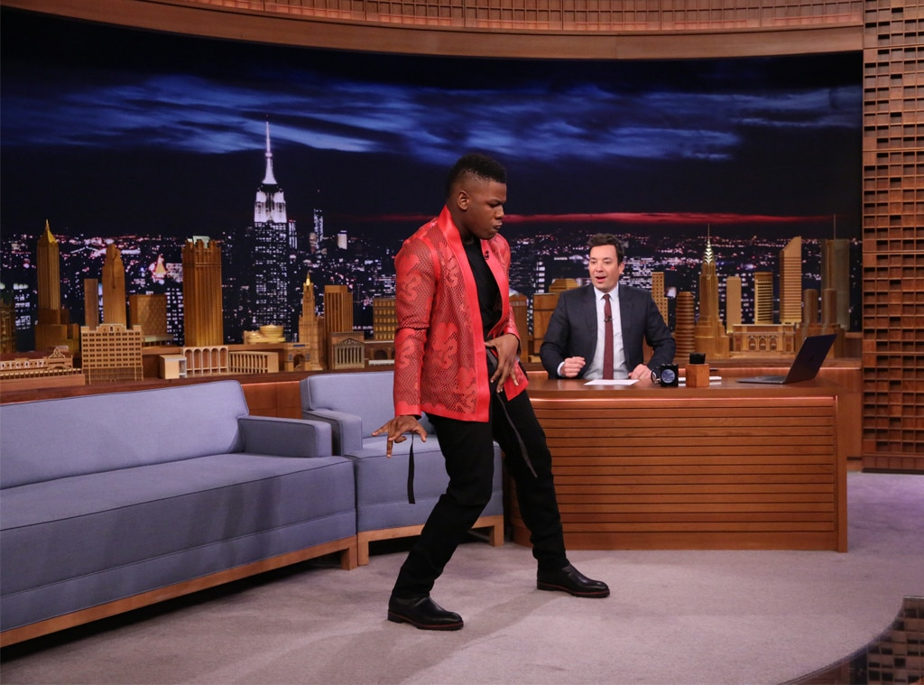 Daisy Ridley surprises John Boyega with dance request on The Tonight Show