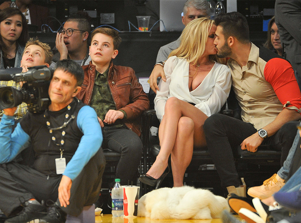 Britney Spears, Sam Asghari, Sean Federline, Jayden James Federline