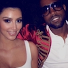 Kim Kardashian, Kanye West, Instagram, Throwback